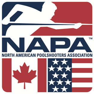 NAPA Pool/Billiards logo image.